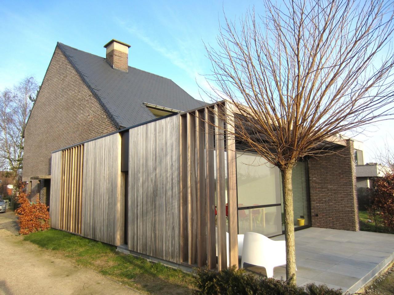 Uitbreiding huis bart vanwassenhove architecten - Uitbreiding stenen huis ...