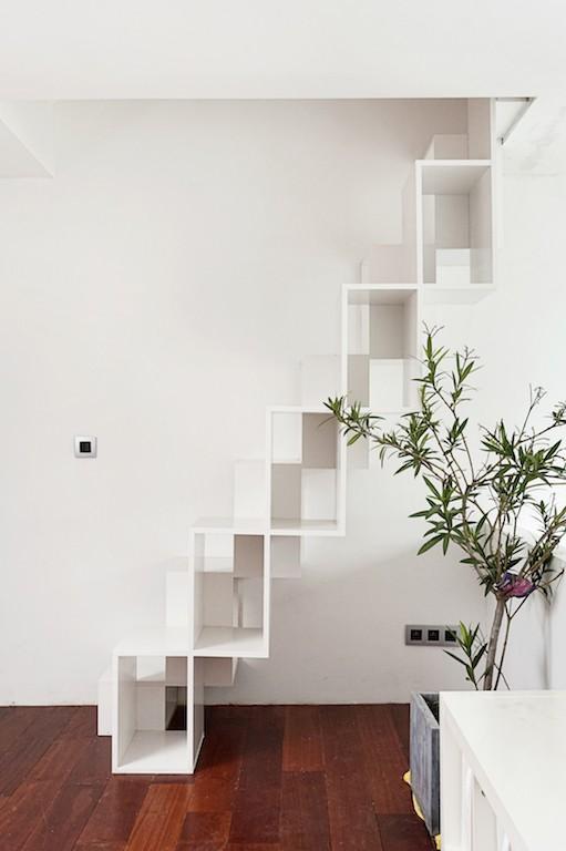 Woning vwdr gent vanwassenhove architecten - Mezzanine trap ...