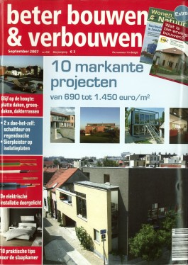 Beter bouwen en verbouwen sept 2007